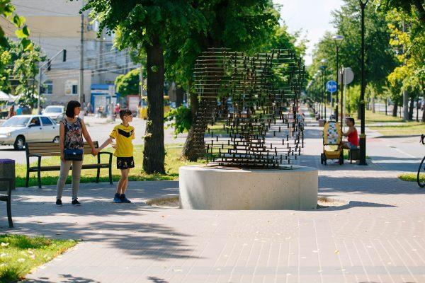 Lyrical message. Olexandria Boulevard, Bila Tserkva city