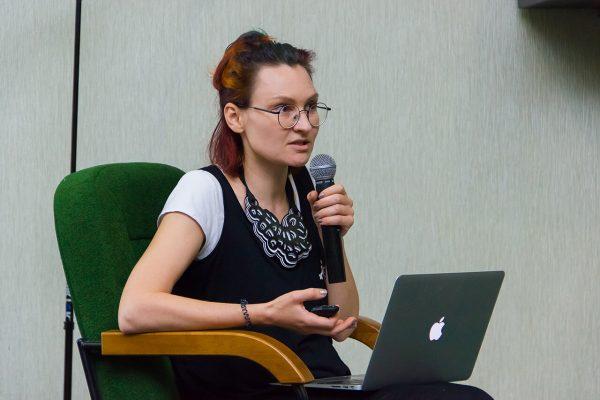 Евгения Моляр, лектор