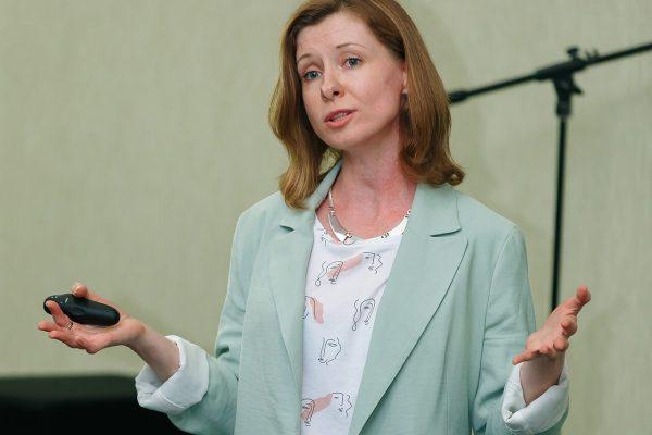 Марина Стрельцова, лектор